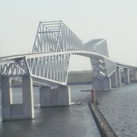 気がつけば東京ゲートブリッジ  ちょこっと散歩