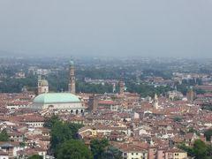 初夏の優雅な北イタリア旅行♪ Vol55(第4日目昼) ☆ヴィチェンツァ(Vicenza):モンテ・ベリコ教会(Santuario di Monte Berico)から素晴らしいパノラマ♪