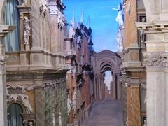 初夏の優雅な北イタリア旅行♪ Vol57(第4日目午後) ☆ヴィチェンツァ(Vicenza):凝った背景が素晴らしい「オリンピコ劇場」(Teatro Olimpico)♪