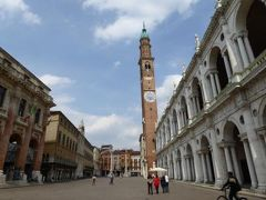 初夏の優雅な北イタリア旅行♪ Vol59(第4日目午後) ☆ヴィチェンツァ(Vicenza):カステッロ広場(Piazza Castello)~ドゥオーモ(Duomo)~シニョーリ広場(Pizza dei Signori)を優雅に歩く♪