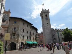 初夏の優雅な北イタリア旅行♪ Vol68(第5日目昼) ☆トレント(Trento):ホテル「Aquila D'Oro」からトレント駅へ歩く♪
