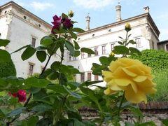 初夏の優雅な北イタリア旅行♪ Vol74(第5日目午後) ☆トレント(Trento):Castello del Buonconsiglio(ブオンコンシリオ城)の咲き乱れる美しいバラの園♪