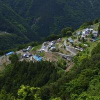 急斜面に残る日本の原風景 / 下栗の里