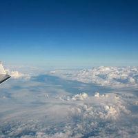 進水式から4ヶ月、デビューしたばかりの宇和島運輸フェリーあかつき丸に乗りに行こう(その1、伊丹発大分行きのフライトはまるで瀬戸内遊覧飛行)