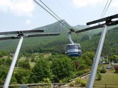 初夏の優雅な北イタリア旅行♪ Vol84(第6日目午後) ☆マルチェジーネ(Malcesine):ロープウェイでバルド山(Monte Baldo)へ♪