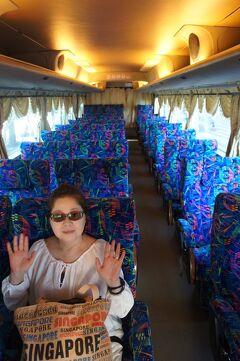 新嘉坡之旅(10)シンガポールから柔拂(ジョホール)水道を越えてマレーシアの馬六甲(マラッカ)への路線バスの旅。