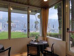初夏の優雅な北イタリア旅行♪ Vol94(第7日目朝) ☆マルチェジーネ(Malcesine):リゾートホテル「Castello Lake Front」の朝食♪