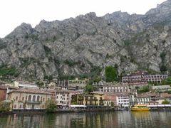 初夏の優雅な北イタリア旅行♪ Vol97(第7日目午前) ☆リモーネ・スル・ガルダ(Limone sul Garda):マルチェジーネ(Malcesine)から高速船で対岸のリモーネ・スル・ガルダ(Limone)へ♪