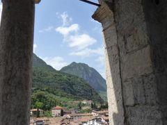 初夏の優雅な北イタリア旅行♪ Vol104(第7日目午後) ☆リーバ・デル・ガルダ(Riva del Garda):アッポナーレの塔(Torre Apponare)から素晴らしい眺望を楽しむ♪