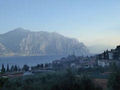 初夏の優雅な北イタリア旅行♪ Vol111(第8日目朝) ☆マルチェジーネ(Malcesine):早朝のマルチェジーネをリフレッシュウォーキング♪