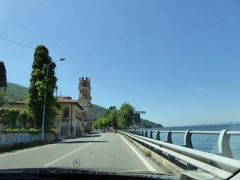 初夏の優雅な北イタリア旅行♪ Vol115(第8日目午前) ☆ブレンツォーネ(Brenzone):マルチェジーネ(Malcesine)から美しいガルダ湖を眺めてガルドーネ・リビエラへ♪