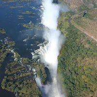 ジンバブエのヴィクトリアの滝♪