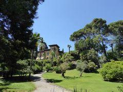 初夏の優雅な北イタリア旅行♪ Vol122(第8日目午後) ☆ガルドーネ・リビエラ(Gardone Riviera):ホテルからガルドーネ・リビエラという名の港へ散策して豪華な別荘を眺めて♪