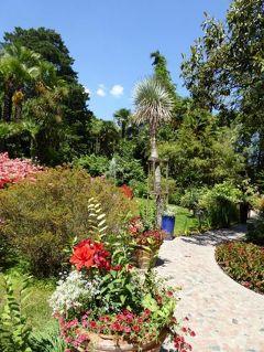 初夏の優雅な北イタリア旅行♪ Vol123(第8日目午後) ☆ガルドーネ・リビエラ(Gardone Riviera):憧れの庭園「Andre Heller」♪美しい花々と優雅な雰囲気の池♪