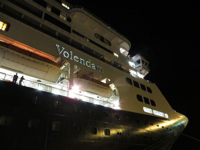 BSで放送されたフォレンダム号9日間のクルーズ 7日目 最後の終日航海日そして清水へ