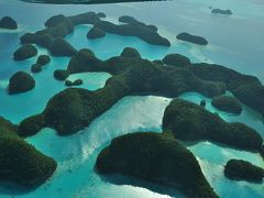 2014パラオ~美しい島々をセスナ機で空から眺めてみた