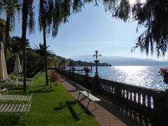 初夏の優雅な北イタリア旅行♪ Vol134(第9日目午前) ☆ガルドーネ・リビエラ(Gardone Riviera):「Grand Hotel Fasano」の屋外と屋内プール♪