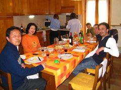 イタリア横断の食事