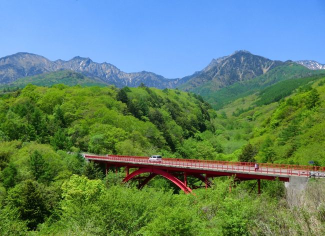 ダイヤモンド八ヶ岳に滞在中、天気のいい日に八ヶ岳山麓の高原道路「八ヶ岳高原ライン」をサイクリングする。アップ・ダウンがありかなりハードであるがダイエット効果は抜群である。<br />写真:八ヶ岳高原ラインのビューポイント「東沢大橋」<br /><br /><br />以下、私のホームページに旅行記多数あり。<br />『第二の人生を豊かに』<br />http://www.e-funahashi.jp/<br />(新刊『夢の豪華客船クルーズの旅<br />ー大衆レジャーとなった世界の船旅ー』案内あり)<br />