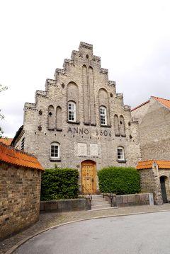 2014.5コペンハーゲン出張旅行6-Aalborg散歩2 聖霊修道院 オールボー歴史博物館 雄牛の像 アヒル飼い少女の像 海との戦いの像