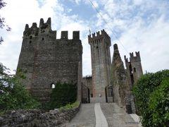 初夏の優雅な北イタリア旅行♪ Vol148(第10日目午前) ☆バレッジョ・サン・ミンチョ(Valeggio s.Mincio):美しい廃墟のスカラ城(Castello Scaligero)♪