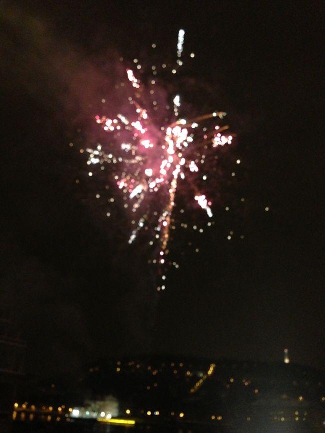 雪が雨にかわりつつあるなか、雪の方がいいのを改めて知り、観光へ。<br />夜はカレル橋から、花火を見ました。