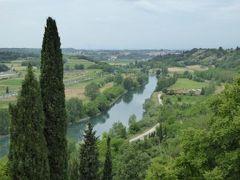 初夏の優雅な北イタリア旅行♪ Vol154(第10日目午後) ☆バレッジョ・サン・ミンチョ(Valeggio s.Mincio):憧れの庭園「Parco Sigurta Giardino」 楽しい迷路の庭と断崖からミンチョ川を眺めて♪