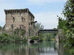 初夏の優雅な北イタリア旅行♪ Vol159(第10日目午後) ☆ボルゲット(Borghetto):600年の水車の村 のんびりと歩く♪
