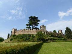 初夏の優雅な北イタリア旅行♪ Vol161(第10日目午後) ☆カステッラロ・ラグゼッロ(Castellaro Lagusello):美しい池と麦畑に囲まれた城壁と塔に抱かれた伝説の村♪