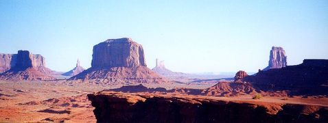 2001年 ユタ・コロラド・アリゾナ・ニューメキシコ州ドライブ(11 days) =Day 4&5= ~モニュメント・バレー~