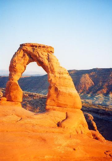 2001年 ユタ・コロラド・アリゾナ・ニューメキシコ州ドライブ(11 days) =Day 2= ~アーチーズ国立公園~