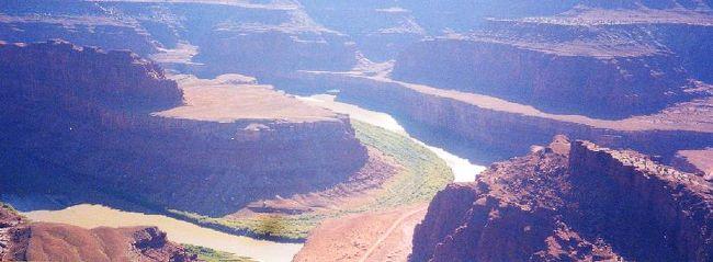 2001年 ユタ・コロラド・アリゾナ・ニューメキシコ州ドライブ(11 days) =Day 3= ~デッド・ホース・ポイント州立公園~