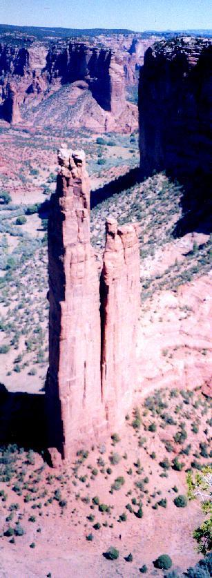 2001年 ユタ・コロラド・アリゾナ・ニューメキシコ州ドライブ(11 days) =Day 5= ~キャニオン・デ・シェリー国定公園~