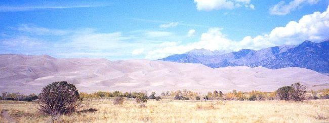 2001年 ユタ・コロラド・アリゾナ・ニューメキシコ州ドライブ(11 days) =Day 7= ~グレート・サンド・デューンズ国立公園~