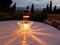 初夏の優雅な北イタリア旅行♪ Vol179(第11日目夜) ☆シルミオーネ(Sirmione):最後のディナーは「Villa Cortine Palace」のメインダイニングレストランで♪
