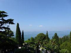 初夏の優雅な北イタリア旅行♪ Vol181(第12日目午前) ☆シルミオーネ(Sirmione):「Villa Cortine Palace」の優雅な貴族の館と庭園を眺めて♪