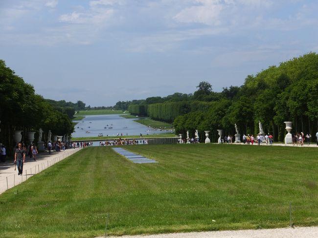 ヨーロッパ5ヶ国周遊とバンコク 2 ベルサイユ宮殿・庭園観光編 2014年6月7日