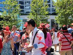 Canada Day 2014 (カナダ・プレイスにて)