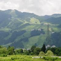 親睦旅行で新潟県の月岡温泉へ・・・①越後路へ