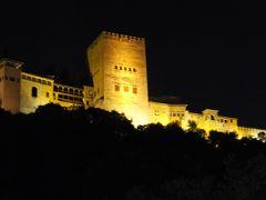 ヨーロッパ5ヶ国周遊とバンコク 18 チノ坂散歩とアルハンブラ宮殿夜景編 2014年6月12日