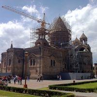 【Vol.4】グルジアのトビリシから移動してアルメニアのエレヴァンとエチミアジン@2014GWはコーカサス3ヵ国で体調不良と一緒の旅