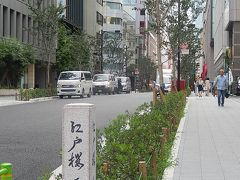 梅雨の中休みに江戸桜通りを歩く