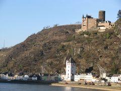 ライン川の古城