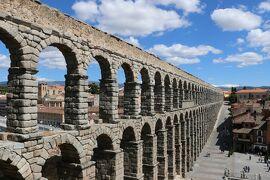 2014 レンタカーで巡るスペインの旅 (1) 【出発~ローマ水道橋の残る街☆セゴビア】