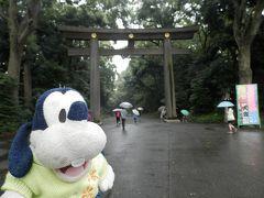 グーちゃん、山中湖臨時合宿へ行く!(えっ?明治神宮参拝!編)