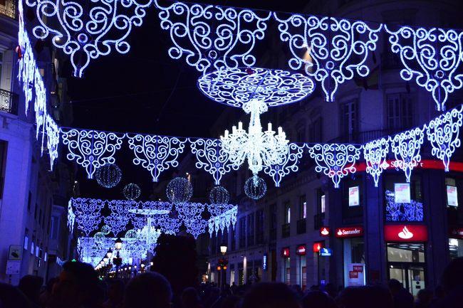 アンダルシアをドライブして、18時半位にマラガに帰ってきました。<br /><br />クリスマス翌日のマラガの街を散策します。<br /><br />日本の感覚だとクリスマスが終わるとすぐ飾りとかを片づける感じですが、ヨーロッパはそうではないみたいで、かなり盛り上がってました、イルミネーションが美しく、そこかしこからクリスマスの曲を弾いたり、歌ったりしてて、なかなか楽しかったです。<br />○1日目、 成田→イスタンブール(乗継)<br />○2日目、 イスタンブール→バルセロナ<br />○3日目、 バルセロナ<br />○4日目、 バルセロナ→マドリード<br />○5日目、 マドリード→アビラ→セゴビア→コルドバ<br />○6日目、 コルドバ→グラナダ<br />○7日目、 グラナダ→マラガ→ネルハ→マラガ<br />●8日目、 マラガ→ミハス→カサレス→ロンダ→マラガ<br />○9日目、 マラガ→イスタンブール<br />○10日目、イスタンブール<br />○11日目、イスタンブール<br />○12日目、イスタンブール→成田<br /><br />