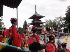 成田山祇園祭り最終日