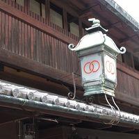 島原(京都) 夏の日差しの中を歩く