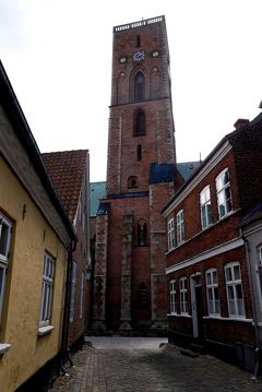 2014.5コペンハーゲン出張旅行14-Ribe散歩2:Ribeの街並み,Ribe大聖堂