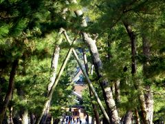 日本の神を覗く旅路・第1部記紀の神々13出雲大社参道と大国主神像